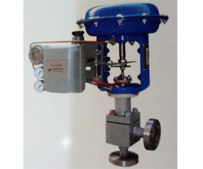 ZMAS-320型气动高压角型调节阀