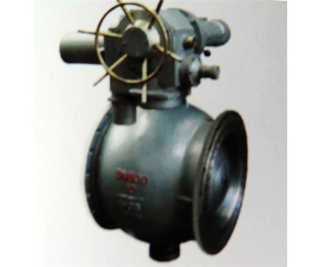 碳钢电动偏心半球阀