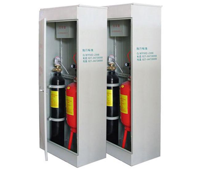 柜式超细干粉自动灭火装置