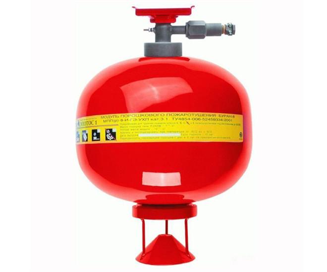防爆悬挂式超细干粉自动灭火装置