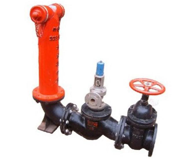 地上式消防水泵接合器